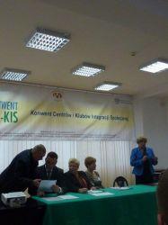 Konwent CIS KIS 2013