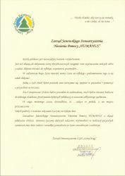 List gratulacyjny